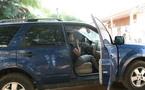 Photo : Viviane Ndour dans sa voiture 4X4