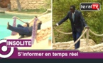 Tournage clip à Saly : Regardez la glissade de Thione Seck !