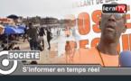 """VIDEO - Ibrahima Fall, maître-nageur: """" Les cas de noyades sont dus au non respect de la zone de baignade"""""""