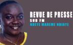 Revue de Presse Sud fm ( français ) du mardi 18 juin 2019 par Ndèye Marème Ndiaye