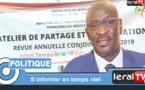 """VIDEO - Mohamed Diop: """"La Fonction publique est dans une trajectoire extrêmement positive..."""""""