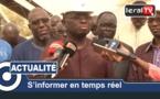 """VIDEO - Modou Diagne Fada à Louga: """" Le problème de la Sonacos, c'est l'outil de production"""""""