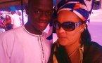 Photo : Kiné, la très belle femme de Thione Seck avec son fils