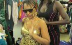 Photo : Viviane dans un dressing avec Oumou Provocation