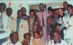 ARRÊT SUR IMAGE ! Il y a 21 ans, le maître Psk entouré de ses élèves: Aliou Sall, Yakham Mbaye, Thierno Birahim Fall...