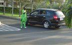 La voiture 4x4 de Salam Diallo
