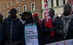 """[PHOTOS] Florence: Les Sénégalais disent """"Halte"""" au racisme"""