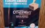The Golden Europe Award: Cheikh Amar primé, le patron de Tse-Afrique recevra le prix du Golden Europe aujourd'hui au cours d'un dîner de gala à Berlin