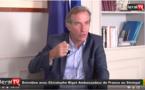 """VIDEO - S. E Christophe Bigot:"""" Les 2/3 des demandes de visa reçoivent des réponses positives"""""""