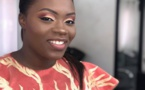 PHOTOS - L'animatrice Safia Diatta de la Sen Tv toute souriante affiche un Makeup à la perfection et fait sensation