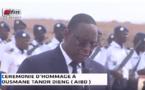 VIDEO - Discours du Président Macky Sall à l'arrivée de la dépouille d'Ousmane Tanor Dieng