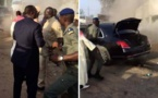 VIDEO - Limousine Présidentielle en feu: La sécurité du Président mise à rude épreuve