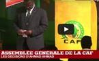 VIDEO - CAN-2019 : Les décisions d'Ahmad Ahmad à l'assemblée générale de la CAF