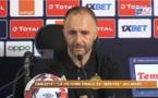 """VIDEO - Jamel Belmadi, sélectionneur de l'équipe d'Algérie: """"Ce n'était pas notre meilleur match, mais..."""""""
