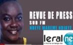 Revue de Presse Sud fm en français du Mardi 23 Juillet 2019 avec Ndéye Marième NDIAYE