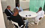 PHOTO INEDITE : Barthelemy Dias , Karim Wade et Jean Paul Dias