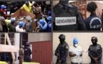 PHOTOS - COCAÏNE SAISIE PAR LA DOUANE : Les images d'une incinération sous très haute sécurité