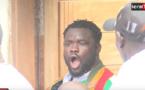 VIDEO: Eumeu Sène crie victoire en quittant son domicile