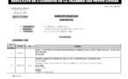 Tribunal du Commerce: Délibérés des Audiences du mardi 30 juillet 2019