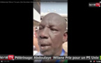 VIDEO - Hadji 2019: Quand Abdoulaye Willane prie pour être Secrétaire général du PS et l'unité des militants
