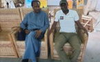 PHOTOS: Abou Kane, patron de la Bergerie Galoya et ses partenaires Baba Diao et Amadou Sall