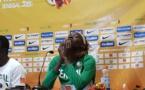 VIDEO - Afrobasket 2019 : Léna Niang craque en conférence de presse