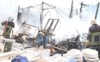 Incendie au marché Liberté 6: Huit cantines partent en fumée