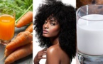 Masque au coco et carotte pour booster la pousse des cheveux
