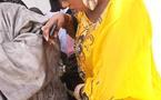 Une des épouses de Cheikh Bethio Thioune et son fils au magal de Touba