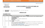 Tribunal du Commerce: Délibérés des Audiences du lundi 2 septembre 2019