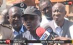 """Oumar GUEYE (Ministre des collectivités territoriales): """"On a pris des mesures imédiates pour..."""""""