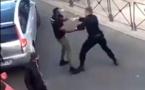 VIDEO- France: Bagarre en pleine rue entre un policier et Lamine Bâ, employé municipal