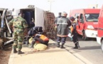 Croisement Petit Mbao : Un accident entre un car Ndiaga Ndiaye et un camion frigorifique fait 3 morts