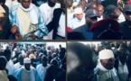 (PHOTOS) - Accueil chaleureux de Me Wade à Keur Serigne Touba: L'ex-chef d'Etat garde toute sa popularité dans la communauté mouride