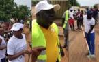 """VIDEO - Journèe de nettoyage de la ville de PIRE sur l'initiative de Mamadou Ndoye BANE, Président du mouvement """"WALLU PIRE""""."""