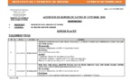 Tribunal du Commerce: Délibérés des Audiences de Référés du lundi 7 octobre