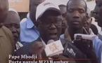 Le M23 de Mbacké redoute des fraudes électorales en faveur de Wade