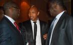 El Hadji Diouf en pleine discussion avec Pape Diouf ex-président de L'om