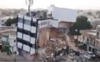 VIDEO- L'effondrement de l'immeuble à Touba est spectaculaire