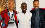 PHOTOS - Habib Bèye et Diomansy Kamara chez Sadio Mané