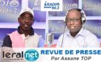 Revue de presse Iradio en wolof du Mercredi 16 Octobre 2019 avec Assane Top