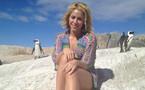 Photos : Shakira : elle s'est fait agresser... par un lion de mer !