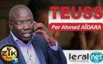 Teuss du lundi 21 octobre 2019 avec Ahmed Aïdara
