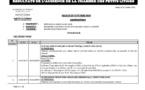 Tribunal du Commerce: Délibérés des Audiences de la Chambre des Petits Litiges du mardi 22 octobre