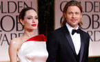 Angelina et Brad: avant-première glamour à Paris