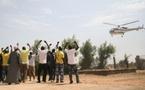 Voici l'hélicoptère de campagne de Wade