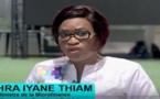 VIDEO - ZAHRA IYANE THIAM à la cérémonie de Clôture du Salon Tournant de l'Economie Sociale Solidaire