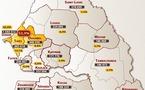 CARTE ELECTORALE DU SENEGAL : Les chiffres clés des 14 régions du pays