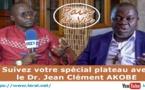 """Spécial plateau avec le Dr. Jean Clément AKOBÉ, père Fondateur de la Communauté """"Mère du Divin Amour"""" - Pr: Bonaventure SAGNA"""