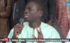 Kaolack: Serigne Mboup offre plus de 2000 Blouses au Cem Bassirou Mbacké (VIDEO)